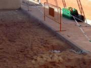 Un vertido de aguas fecales pone en peligro a 60 niños del CEIP Valdebernardo